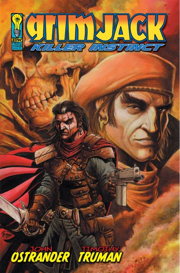 GrimJack: Killer Instinct #1