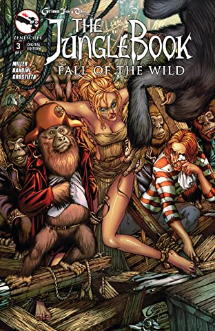The Jungle Book: Fall of the Wild No.3 (sur 5)