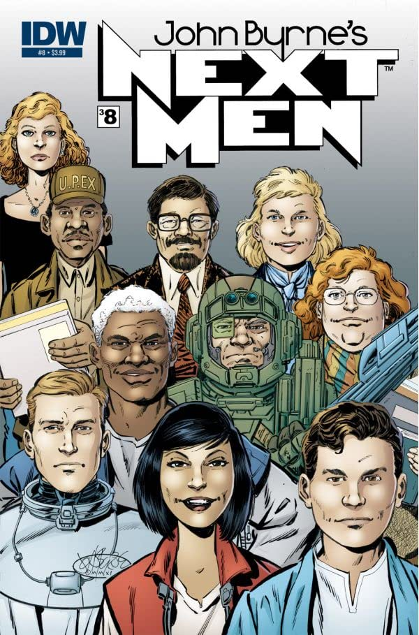 John Byrne's Next Men #38