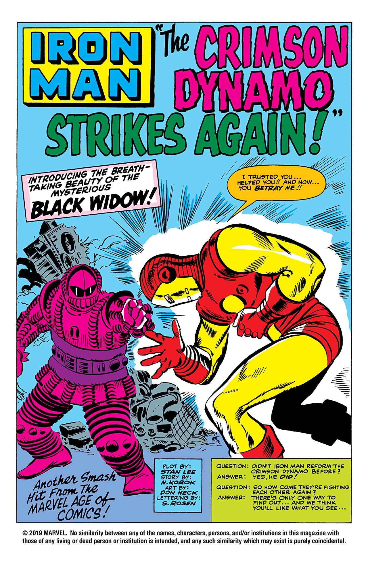 Tales of Suspense (1959-1968) #52