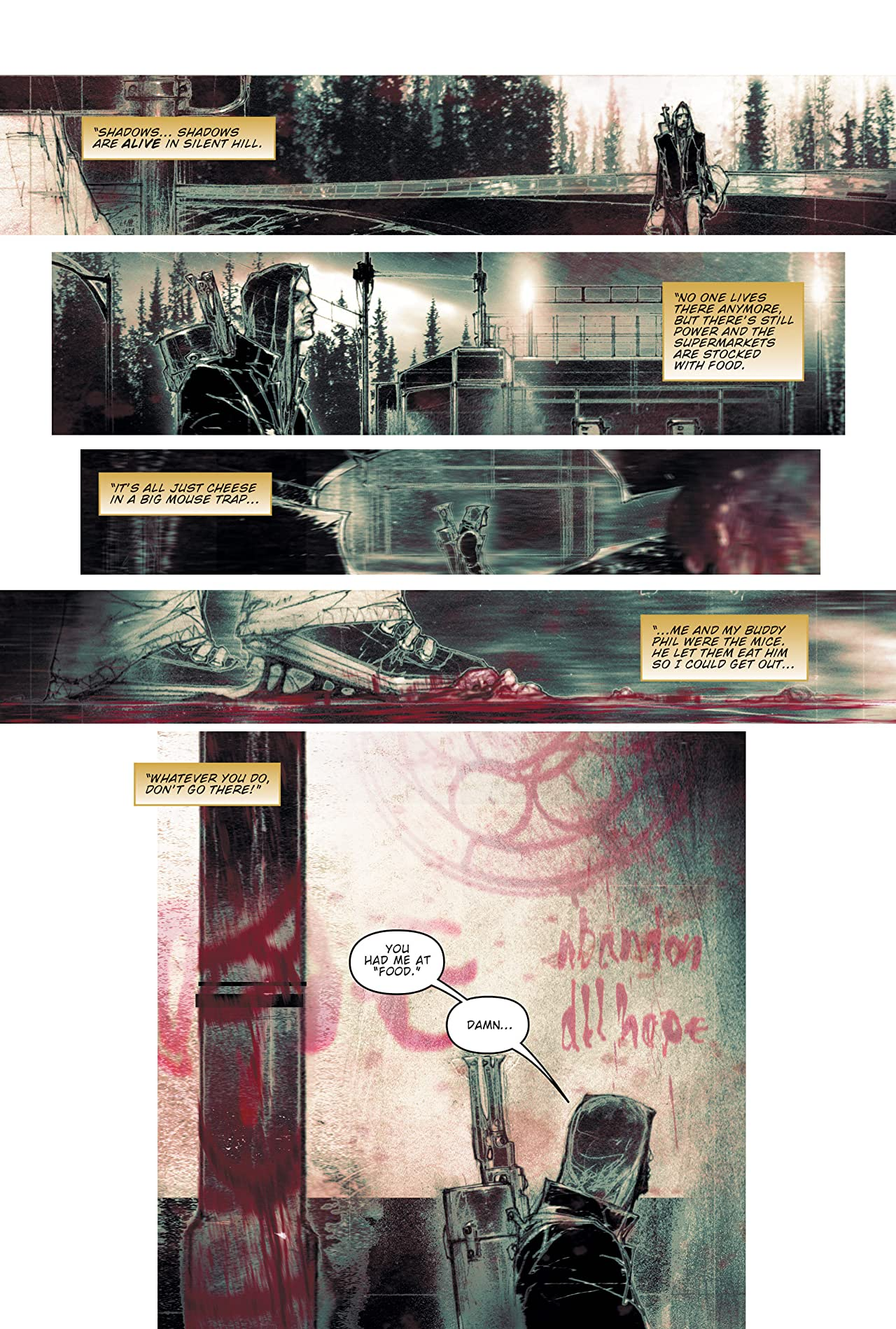 Silent Hill: Paint it Black