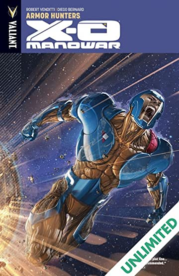 X-O Manowar Vol. 7: Armor Hunters