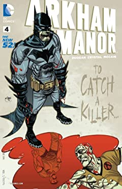 Arkham Manor (2014-2015) #4
