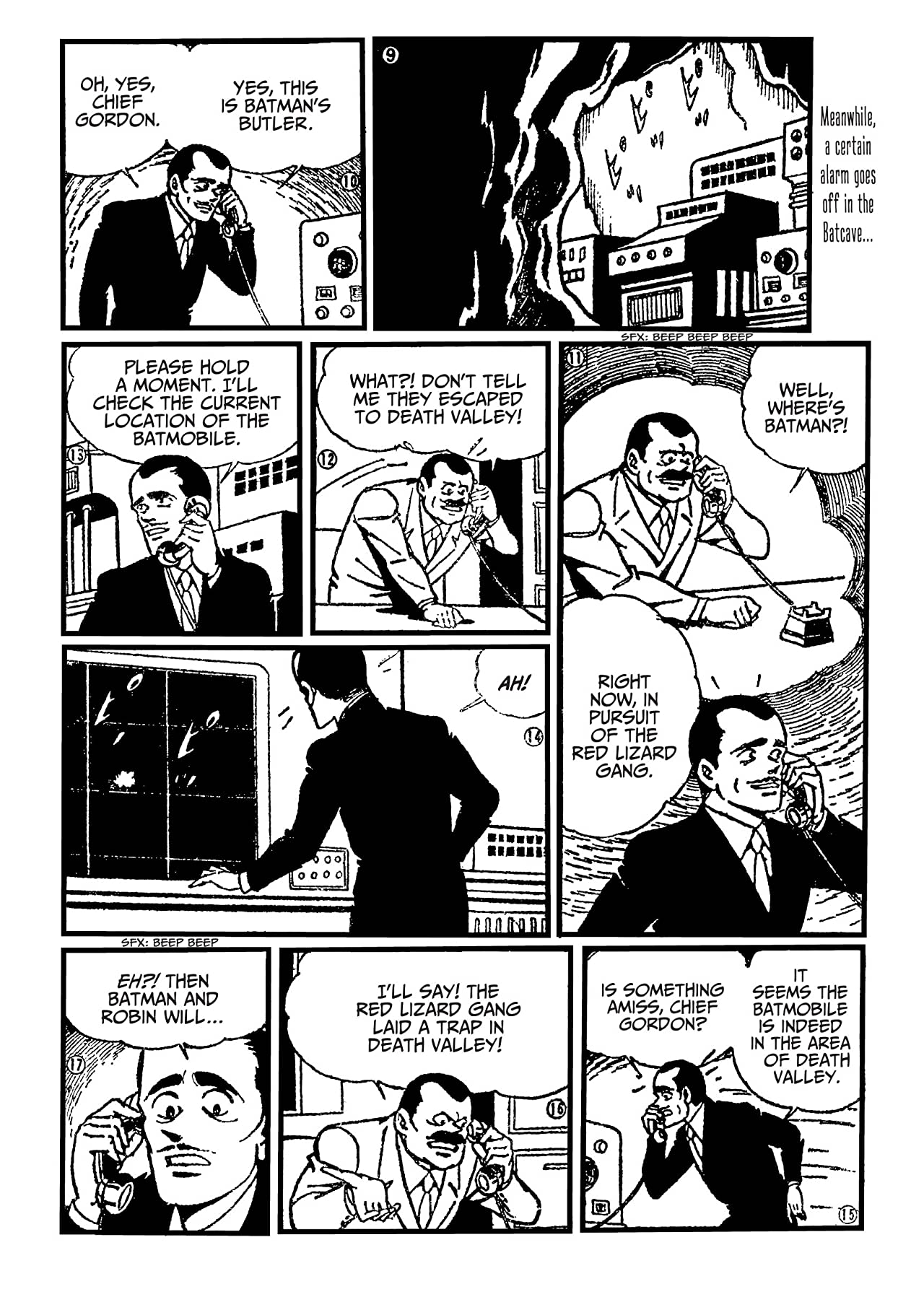Batman: The Jiro Kuwata Batmanga #31