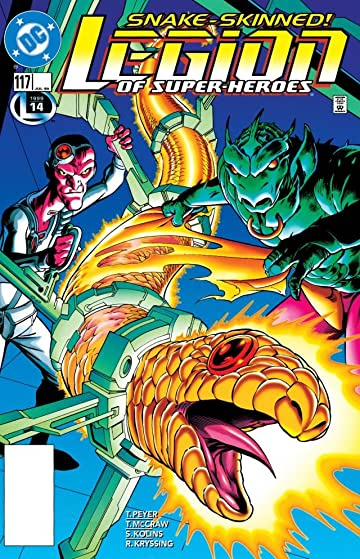 Legion of Super-Heroes (1989-2000) #117