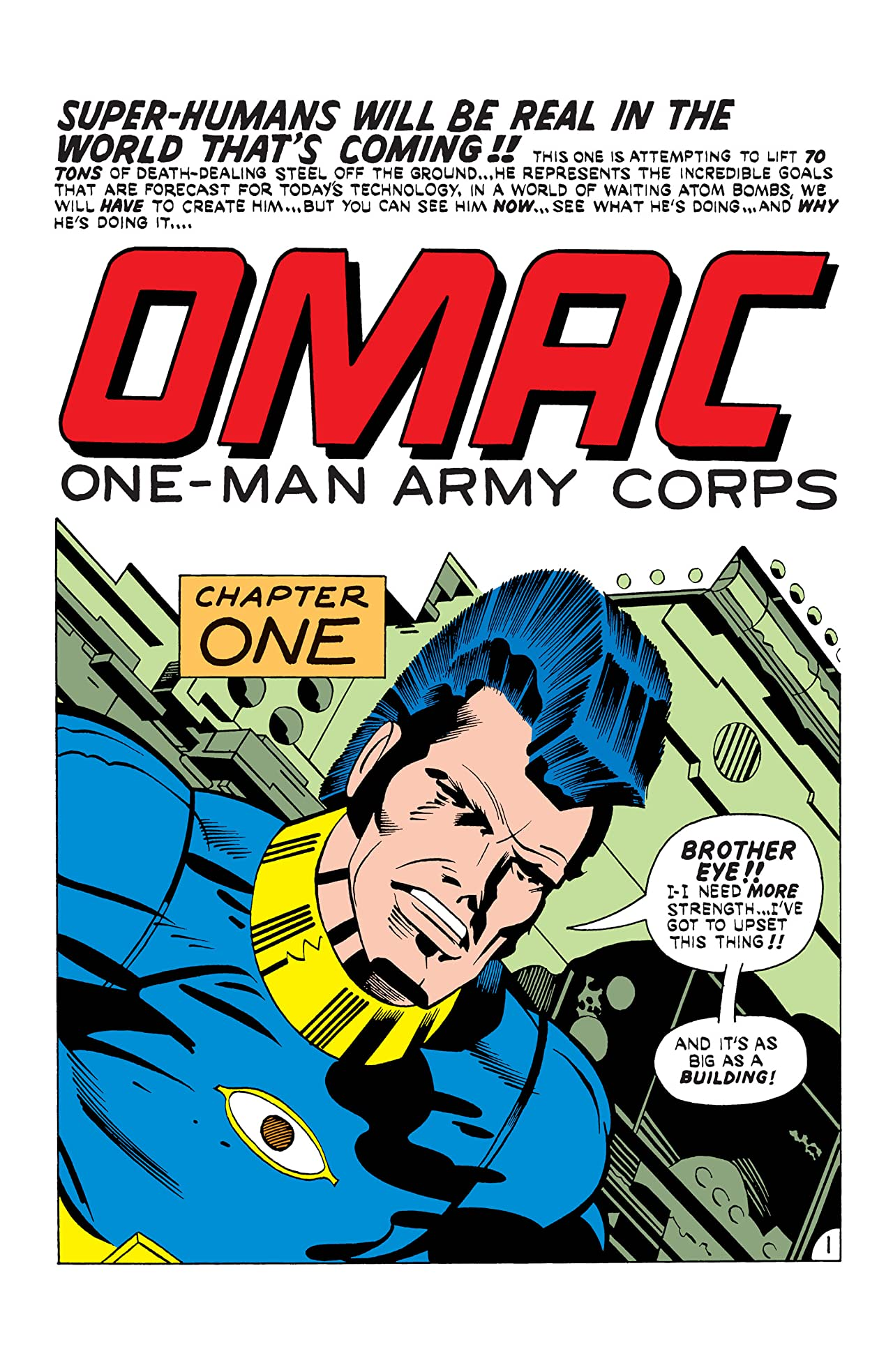 OMAC (1974-1975) #4