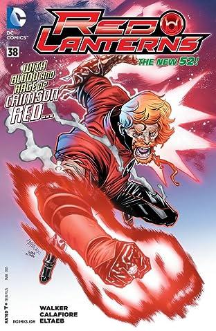 Red Lanterns (2011-2015) #38