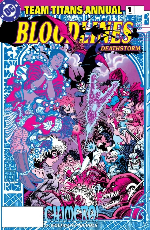 Team Titans (1992-1994): Annual #1