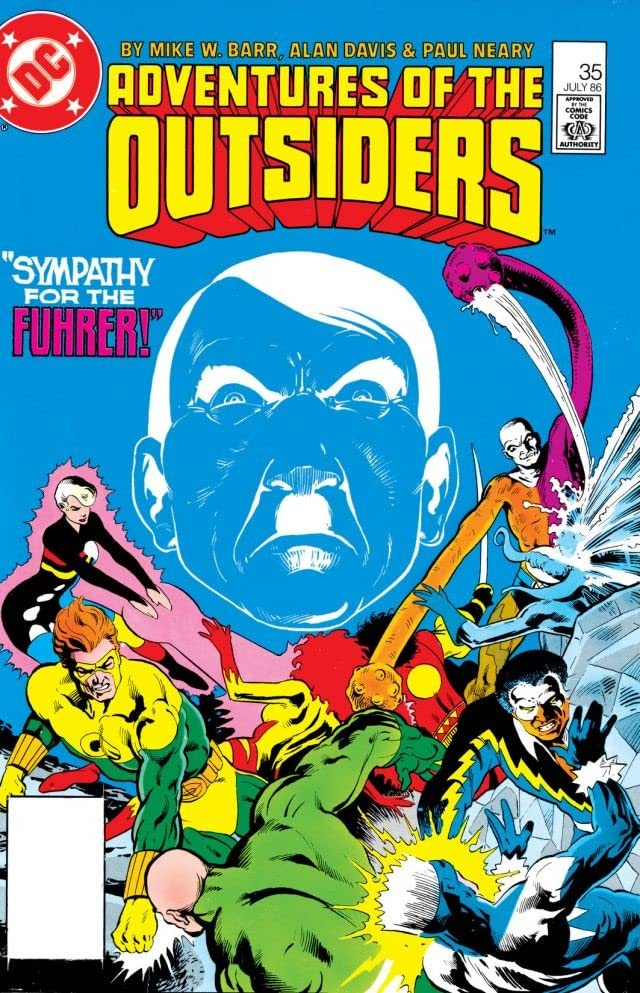 Adventures of the Outsiders (1983-1987) #35