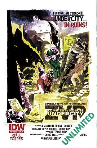Zombies vs Robots: UnderCity #3
