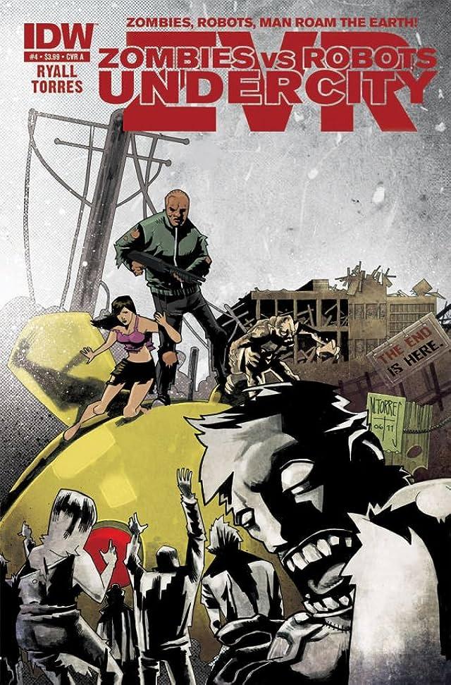 Zombies vs Robots: UnderCity #4