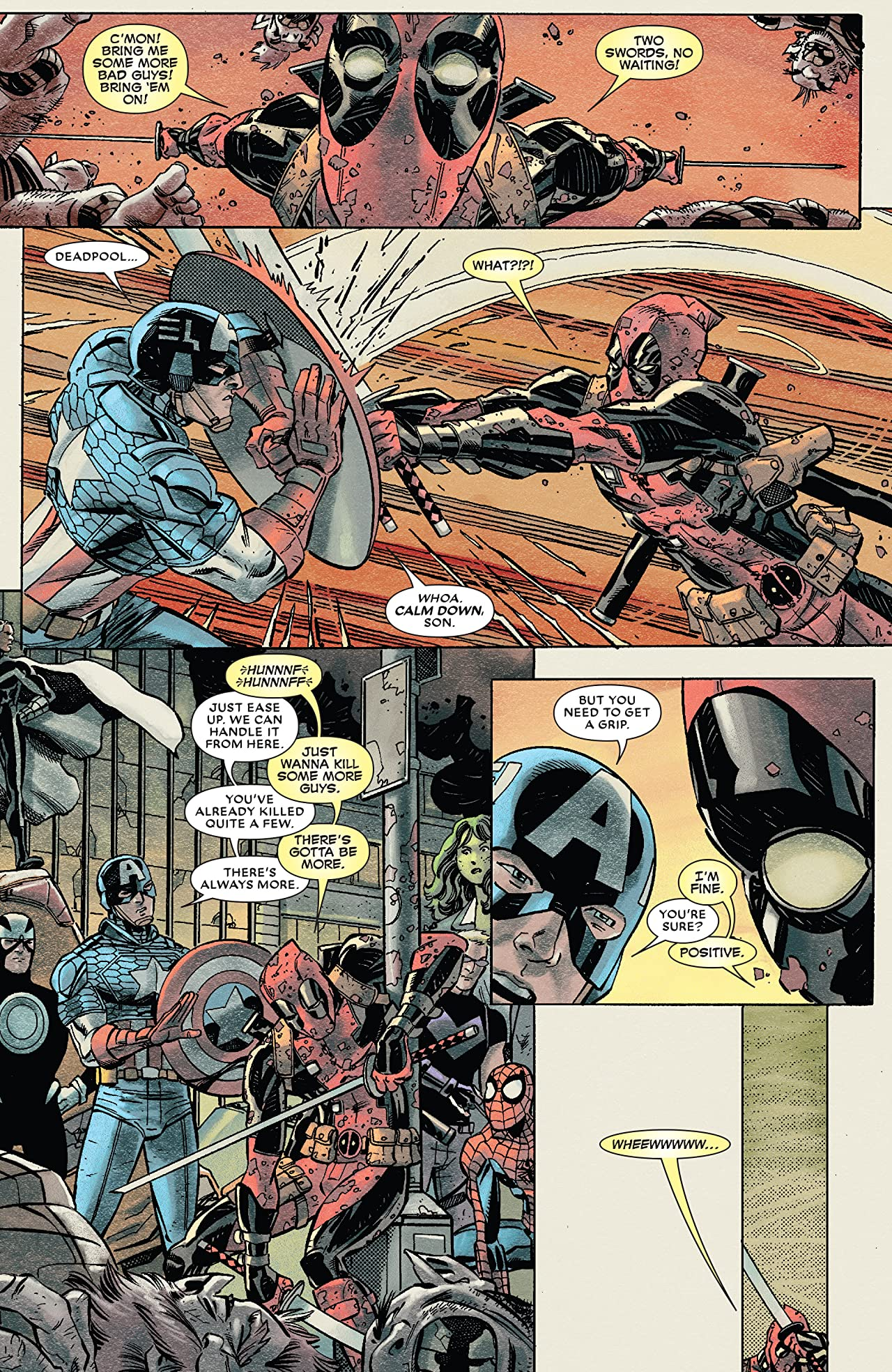 Deadpool's Art of War #4 (of 4)