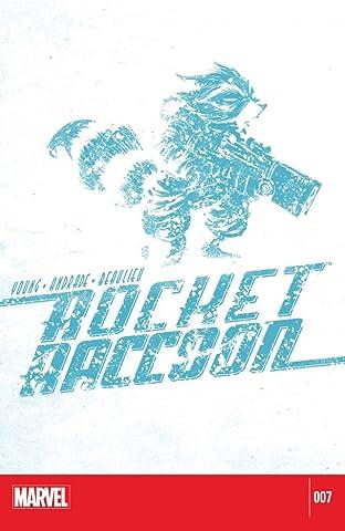 Rocket Raccoon (2014-2015) #7