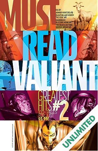 Must Read Valiant: Greatest Hits #2