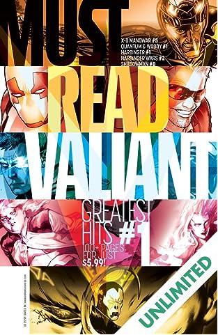 Must Read Valiant: Greatest Hits #1