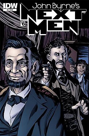 John Byrne's Next Men #36