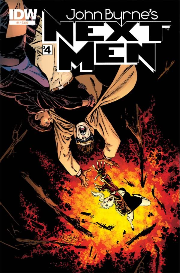 John Byrne's Next Men #34