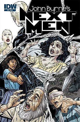 John Byrne's Next Men #35