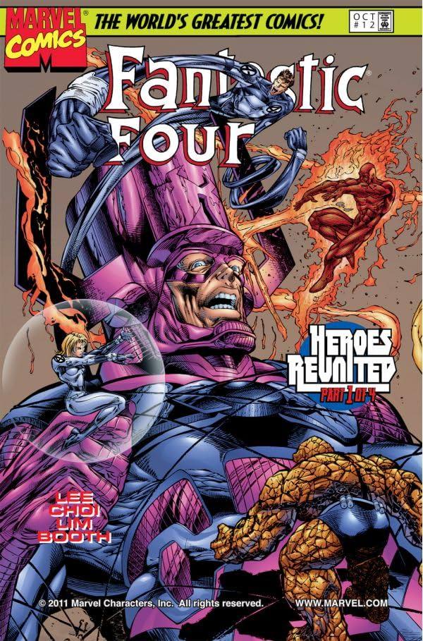 Fantastic Four (1996-1997) #12