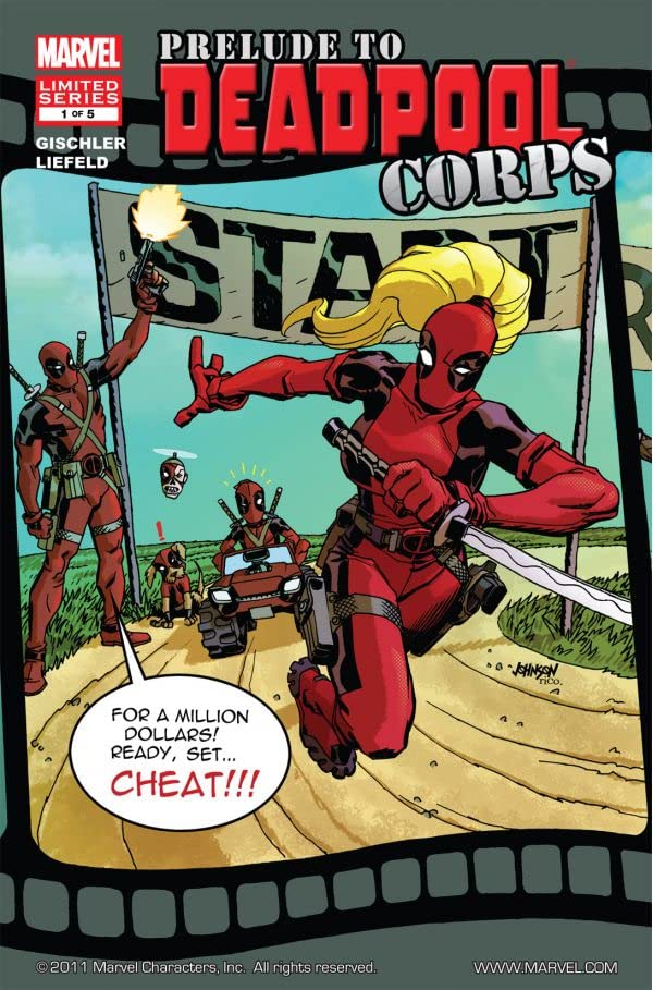 Prelude To Deadpool Corps #1 (of 5)