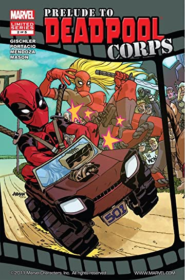 Prelude To Deadpool Corps #2 (of 5)