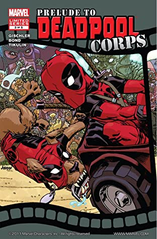 Prelude To Deadpool Corps #3 (of 5)