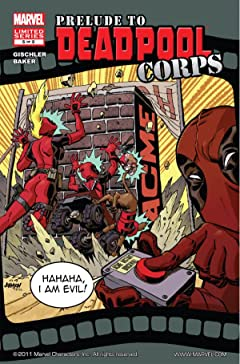 Prelude To Deadpool Corps #5 (of 5)