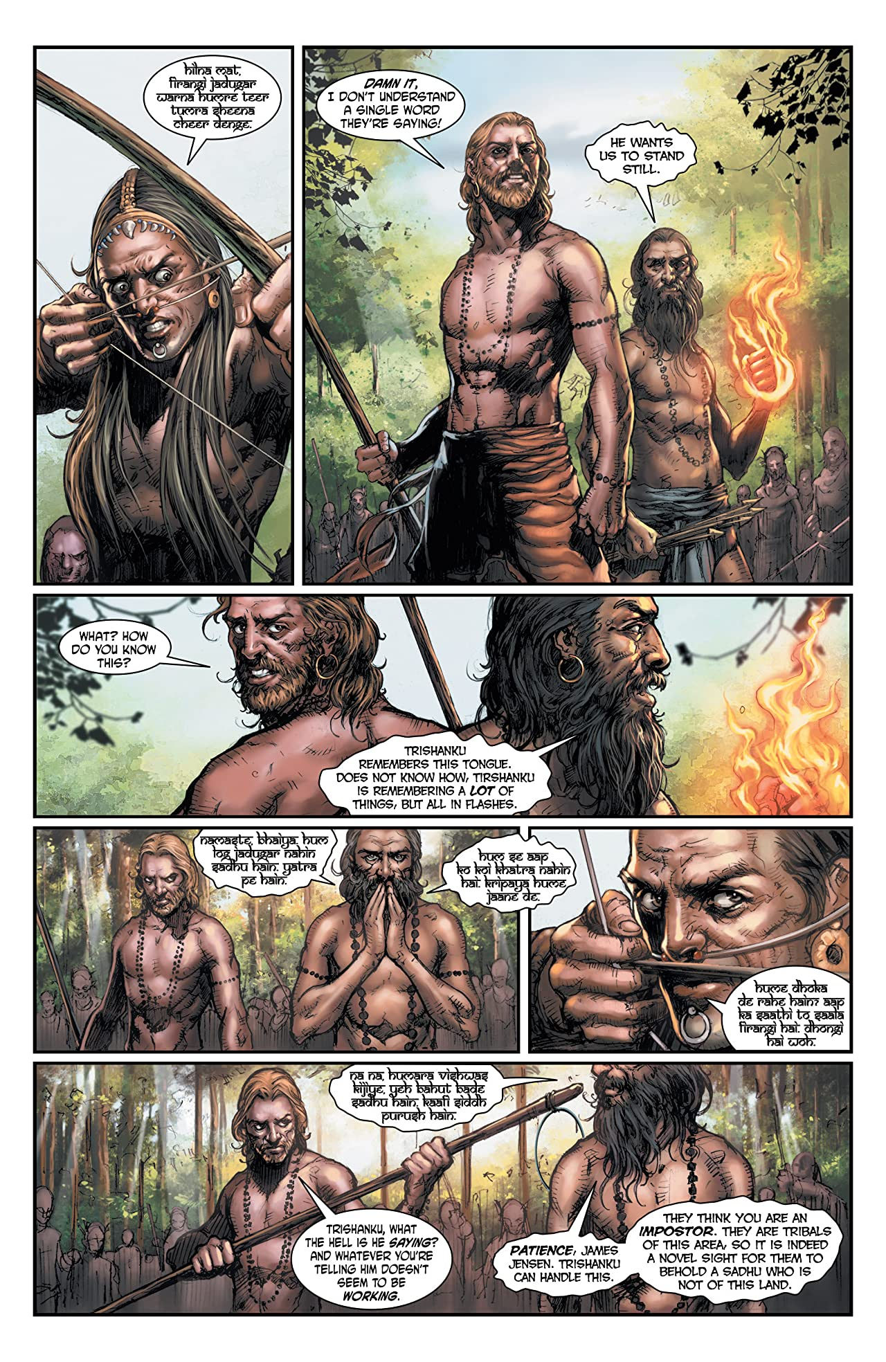 The Sadhu: The Silent Ones #4