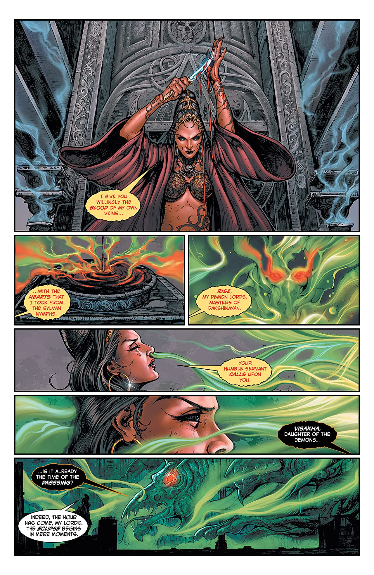 The Sadhu: The Silent Ones #5