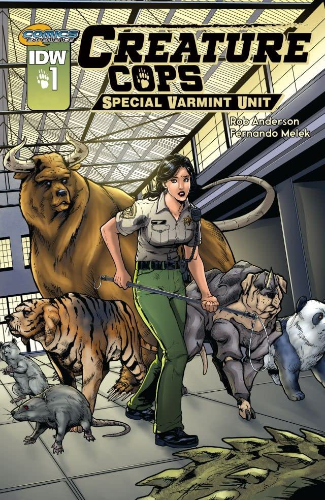 Creature Cops: Special Varmint Unit #1 (of 3)