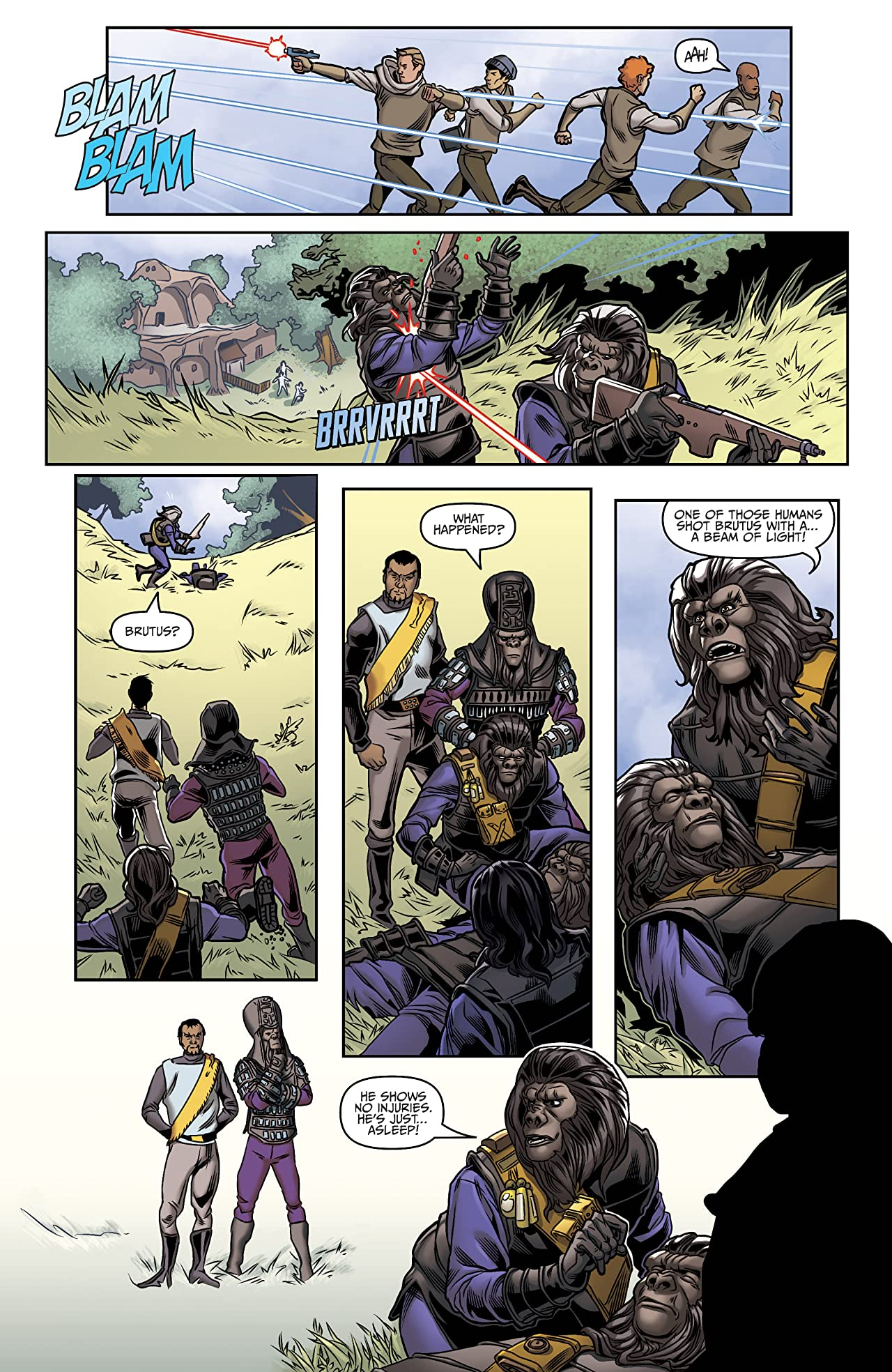 Star Trek / Planet of the Apes #2 (of 5)