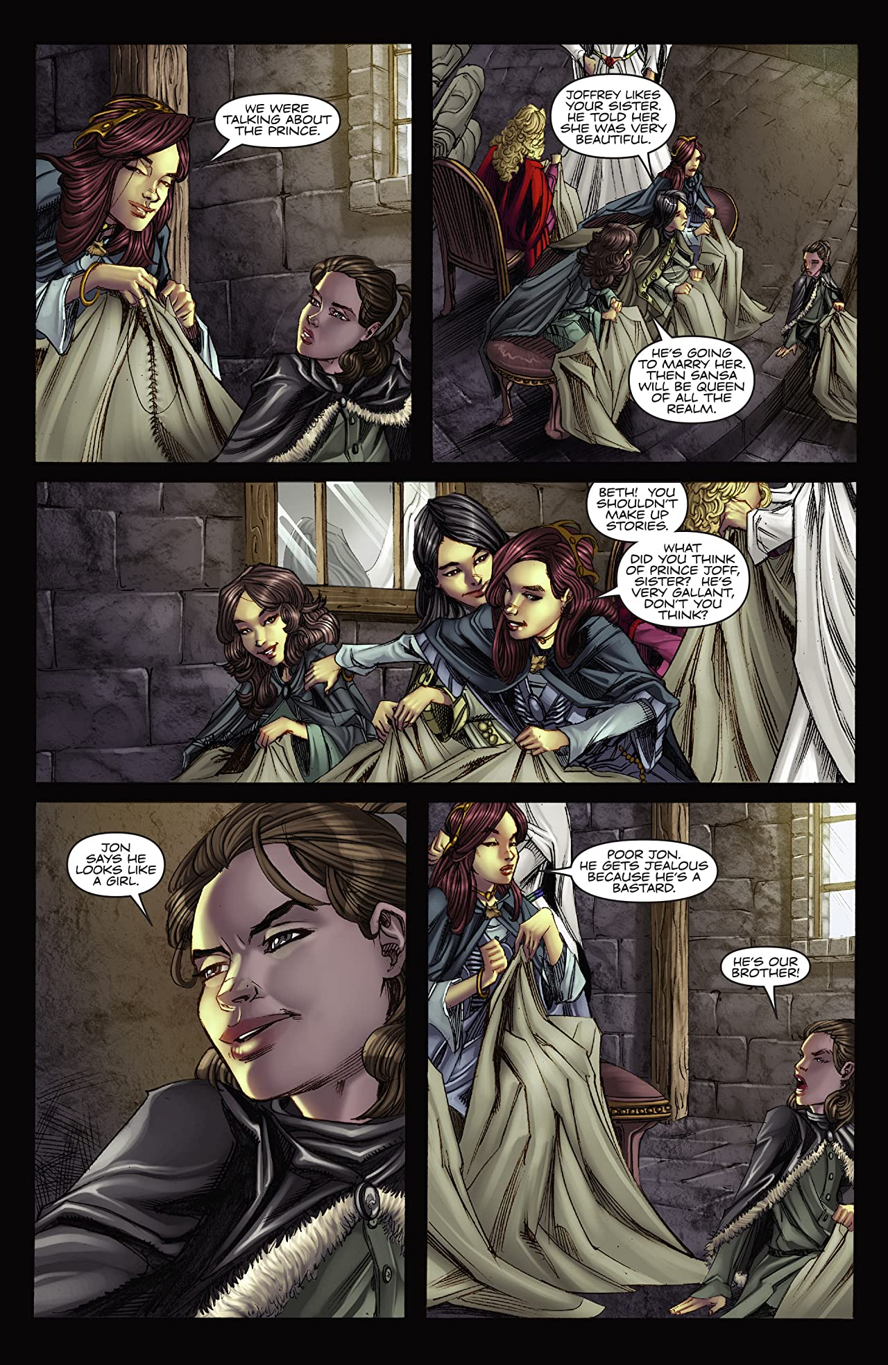 George R.R. Martin's A Game Of Thrones: The Comic Book #3