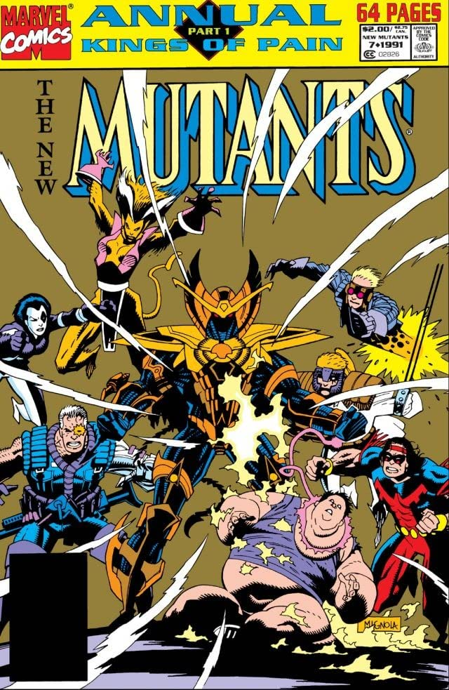 New Mutants (1983-1991) Annual #7
