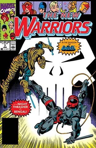 New Warriors (1990-1996) #7