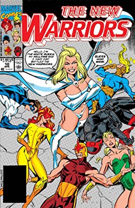 New Warriors (1990-1996) #10