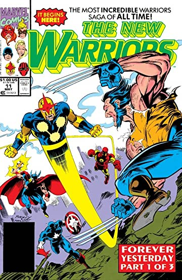 New Warriors (1990-1996) #11