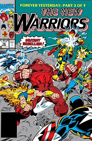New Warriors (1990-1996) #12