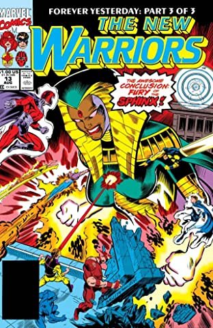 New Warriors (1990-1996) #13