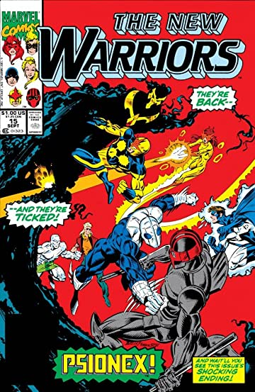 New Warriors (1990-1996) #15