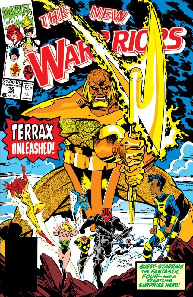 New Warriors (1990-1996) #16