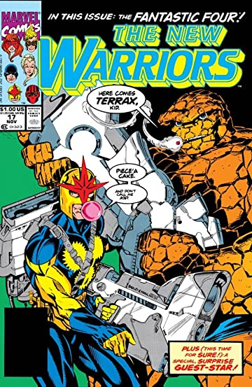 New Warriors (1990-1996) #17