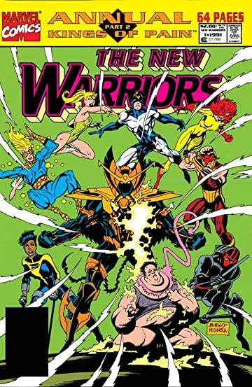 New Warriors (1990-1996) Annual #1