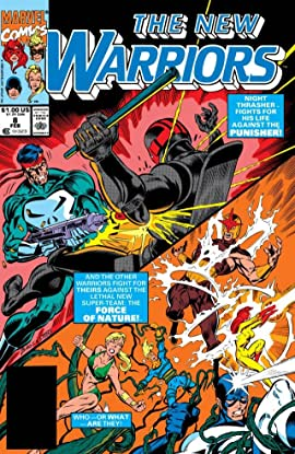 New Warriors (1990-1996) #8