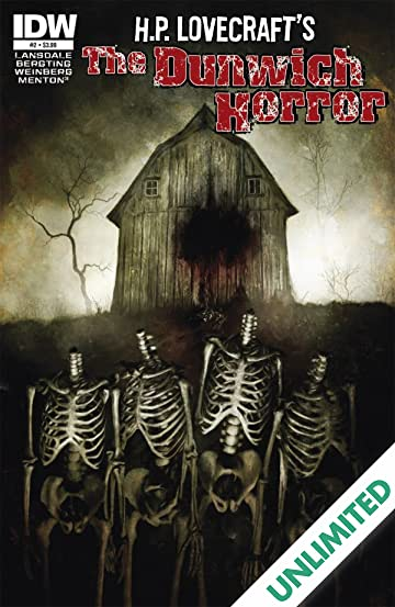 HP Lovecraft: The Dunwich Horror #2 (of 4)