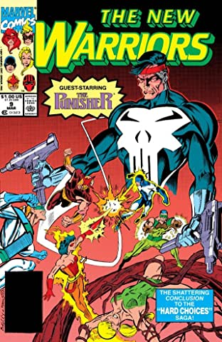 New Warriors (1990-1996) #9