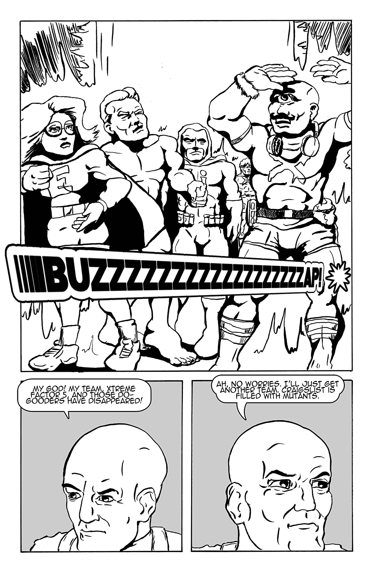 Naked Man Comics #4