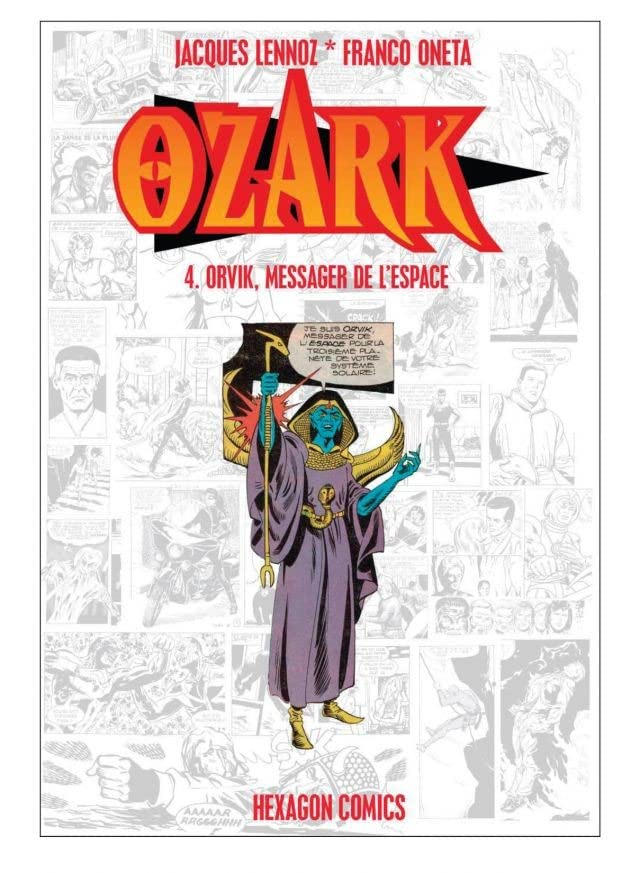 OZARK Vol. 4: Orvik, Messager de l'Espace