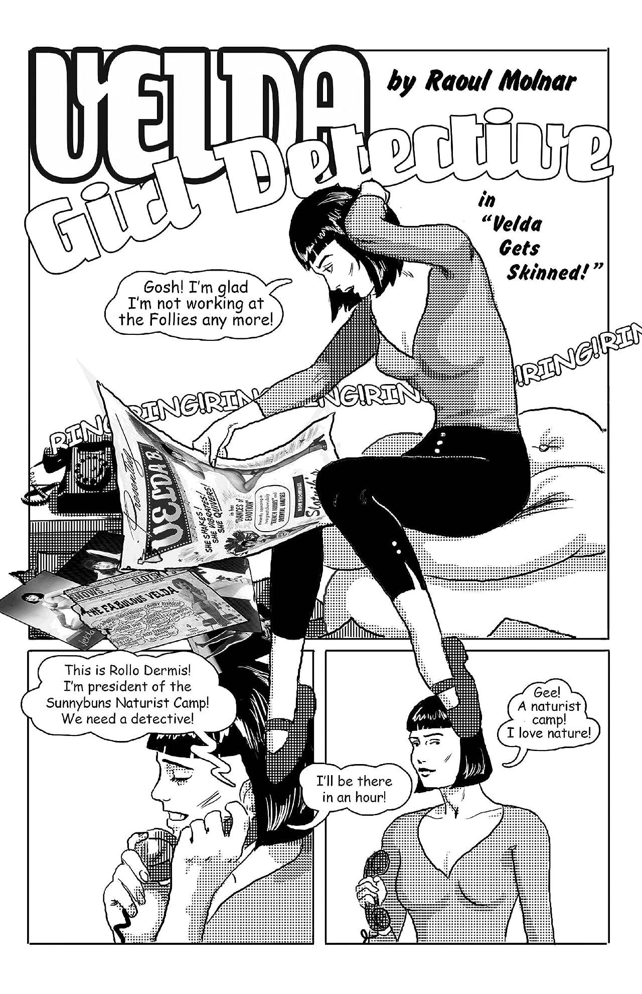 Velda: Girl Detective #8