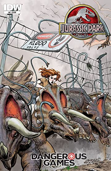 Jurassic Park: Dangerous Games #4 (of 5)