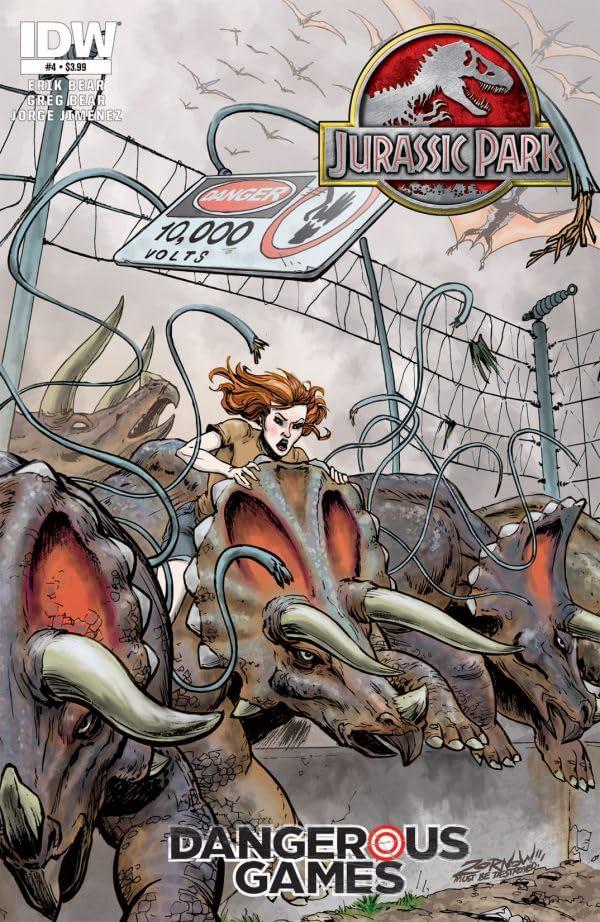 Jurassic Park: Dangerous Games #4 (of 5)